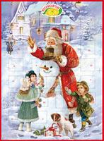 Adventkalender mit Vollmilchschokolade