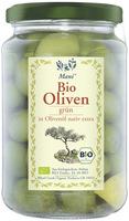 Oliven grün in Olivenöl