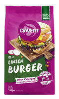 Linsen-Curry Burger